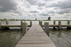holenderscy wiatraczki Zdjęcie Stock