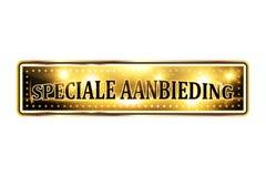 Holenderska biznesowa specjalnej oferty ikona Zdjęcie Royalty Free