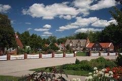 holenderska wioska zdjęcia royalty free