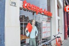 Holenderska Zatrudnieniowa agencja Nazwana drużyna Przy Amsterdam holandie zdjęcia royalty free