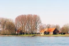 Holenderski dom wiejski fotografia stock