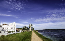 Holenderski fort w Galle, Południowy Sri Lanka Zdjęcie Royalty Free