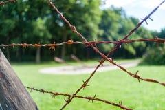 Holenderski krajowy holokausta pomnik, westerbork zdjęcia stock