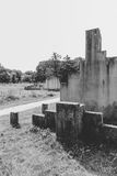Holenderski krajowy holokausta pomnik, westerbork obraz royalty free
