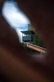 Holenderski krajowy holokausta pomnik, westerbork zdjęcia royalty free