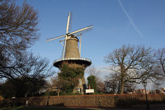 holenderski Leiden młynu wierza Obrazy Stock
