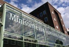 Holenderski ministerstwo sprawy gospodarcze w Haga Fotografia Royalty Free