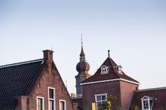 Holenderski o temacie budynek przy huis ten bosch obrazy stock