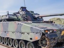 Holenderski pojazd wojskowy Obraz Stock
