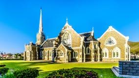 Holenderski Reformowany kościół w Graaff-Reinet w Południowa Afryka ` s Karoo Małym regionie Ja jest krajowym zabytkiem Południow Obraz Royalty Free
