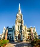 Holenderski Reformowany kościół w Graaff-Reinet w Południowa Afryka ` s Karoo Małym regionie Ja jest krajowym zabytkiem Południow Zdjęcia Royalty Free