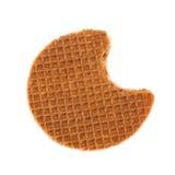 holenderski stroopwafel obraz stock