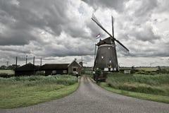 holenderski wiatraczek Fotografia Royalty Free