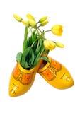 holenderskich tulipanów żółte Fotografia Royalty Free