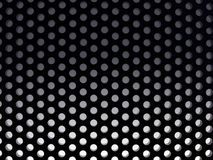 Holes in black Royalty Free Stock Image