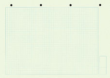 holes den paper modellfyrkanten för anteckningsboken fotografering för bildbyråer