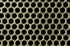 Holes of Gold Royalty Free Stock Photography