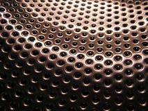 holes metalliskt royaltyfri illustrationer