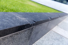 Holes in skateboarding surface for skateboarding restrictions Royalty Free Stock Photos