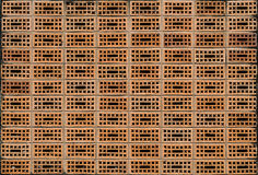 Holes on wall Stock Image