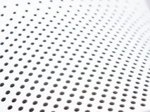 Holey background white Stock Photo