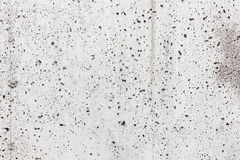 Holey concrete wall background Stock Image