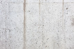 Holey concrete wall background Stock Photography
