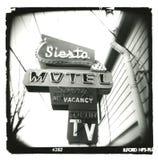 holga motelu sjesty znak Obrazy Stock