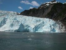 Holgate Glacier - Alaska stock photography