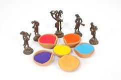 holi φεστιβάλ χρωμάτων στοκ φωτογραφία με δικαίωμα ελεύθερης χρήσης