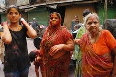 holi Индия празднества Стоковая Фотография