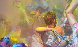 Holi, фестиваль цветов Стоковое Изображение RF