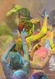 Holi, фестиваль цветов Стоковая Фотография RF