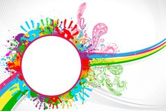 Holi Background Stock Photo