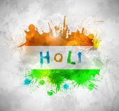 Holi background Stock Photography