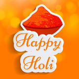 Holi Background vector illustration