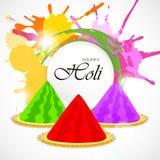 Holi bakgrund Fotografering för Bildbyråer