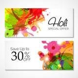 Holi Banner Stock Photography
