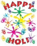 Holi card Royalty Free Stock Photography