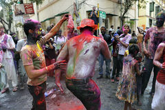Holi Celebration Stock Image