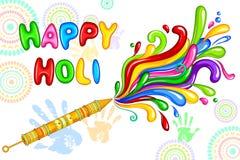 Holi celebration background Royalty Free Stock Image
