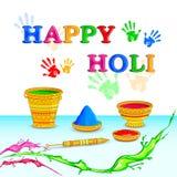 Holi celebration background Stock Images