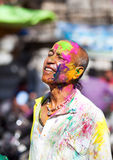 Holi celebration in India Stock Images