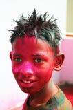 Holi celebrations in India. royalty free stock photo