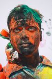 Holi celebrations in India. Stock Photos