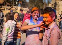 Holi celebrations Stock Photography