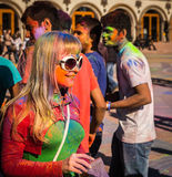 Holi celebrations Royalty Free Stock Photo
