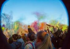 Holi celebrations Royalty Free Stock Image
