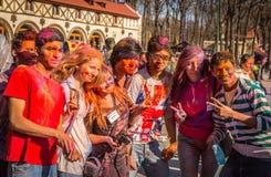 Holi celebrations Royalty Free Stock Photo