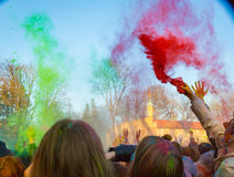 Holi celebrations Royalty Free Stock Photography